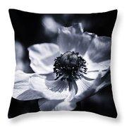 Spring White Dancing Throw Pillow