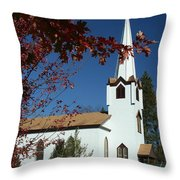 Springboro Rc Church Throw Pillow