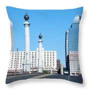 Springfield Memorial Bridge Throw Pillow