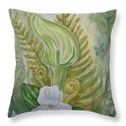 Spring's Awakening 1 Throw Pillow