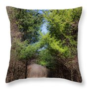 Springs Early Breath Throw Pillow