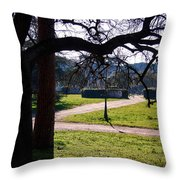 Springtime In Rome Throw Pillow