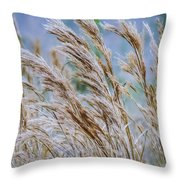 Springtime In The Field Throw Pillow
