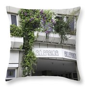 Springtime Lilacs An Farina Cologne Germany Throw Pillow