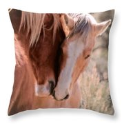 Springtime Love II Throw Pillow