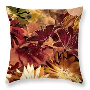 Springtime Melody Two Throw Pillow