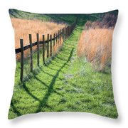 Springtime Pasture Throw Pillow