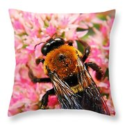 Sprinkled With Pollen Throw Pillow