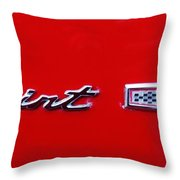 Sprint V8 Throw Pillow