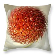 Spun Nature Throw Pillow
