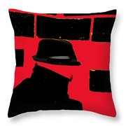 Spy Throw Pillow
