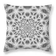 Square Abstract V Throw Pillow