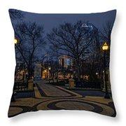Square In Regina Throw Pillow