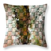 Square Mania - Abstract 09 Throw Pillow