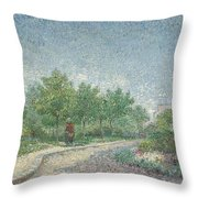 Square Saint Pierre Throw Pillow