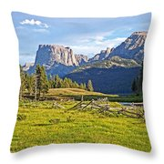 Square Top 2 Throw Pillow