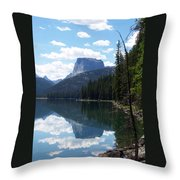 Square Top Throw Pillow