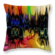 Squaresville Throw Pillow