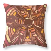 Squash Blossom Cutout Throw Pillow