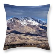 Squaw Butte Throw Pillow
