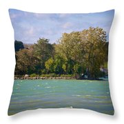 Squaw Island Throw Pillow