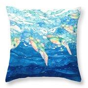 Squid Ballet Throw Pillow