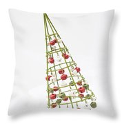 Squiffy Tree Throw Pillow