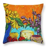 Squigglenick Throw Pillow
