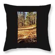 Squirel's View Throw Pillow