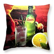 Squirt Throw Pillow