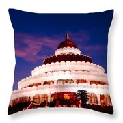 Sri Sri Ravi Shankar Ashram India Throw Pillow