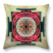 Sri Yantra  Throw Pillow