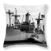 Ss American Victory Throw Pillow by David Lee Thompson
