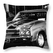 Ss Chevelle Throw Pillow