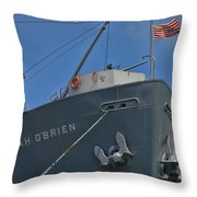 Ss Jeremiah O'brien -3 Throw Pillow