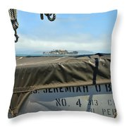 Ss Jeremiah O'brien -4 Throw Pillow