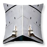 S.s. Keewatin Bow Throw Pillow