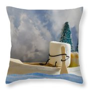 Ss More Throw Pillow by Heather Applegate