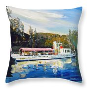 Ss Sir Walter Scott Throw Pillow