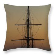 S S V  Corwith Cramer In Key West Throw Pillow