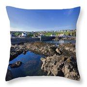 St Abbs Scotland Throw Pillow