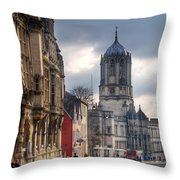 St Aldates Street Road Throw Pillow