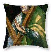 St Andrew Throw Pillow