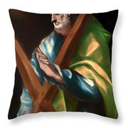 St Andrew Throw Pillow