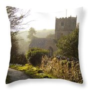 St Andrew's Church Clevedon Throw Pillow