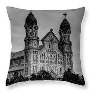 St Anne's Church Fall River Ma Throw Pillow