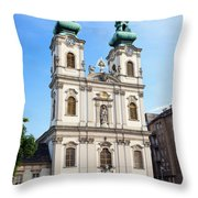 St Anne's Church In Budapest Throw Pillow