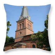 St. Anne's Episcopal Church Throw Pillow