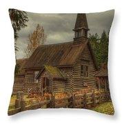 St Anne's Throw Pillow