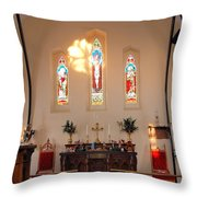 St. Augustine Apse Throw Pillow